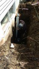Installation des tuyaux